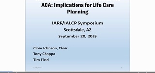 Affordable Care Act: Collateral Sources and Tort Reform: Implications for the Life Care Planner