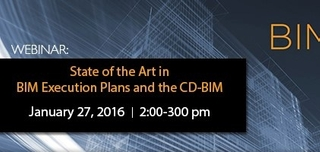 Webinar: State of the Art in BIM Execution Plans and the CD-BIM