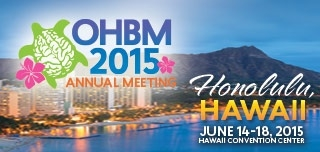 OHBM 2015 Annual Meeting Materials