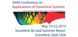 2013 SIAM Conference on Applied Dynamical Systems