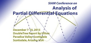 2015 SIAM Conference on Analysis of Partial Differential Equations
