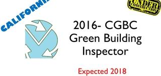 2016 CGBC- Green Building Code Inspector- Under Construction