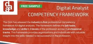 Free Sample: Digital Analyst Competency Framework
