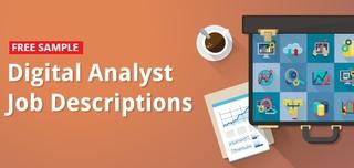 Free Sample: Digital Analyst Job Descriptions