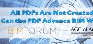 Webinar: All PDFs Are Not Created Equal: Can the PDF Advance BIM Workflows?