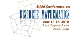 2010 SIAM Conference on Discrete Mathematics