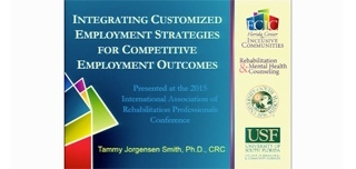 Integrating Customized Employment  Strategies for Competitive Employment Outcomes