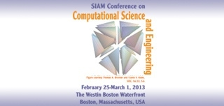 2013 SIAM Conference on Computational Science and Engineering
