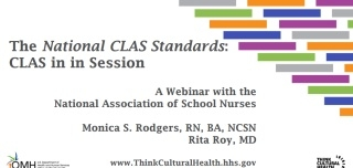 The National CLAS Standards