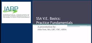 SSA VE Basics: Practice Fundamentals