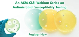 An ASM-CLSI Webinar Series on Antimicrobial Susceptibility Testing: Fundamentals of Susceptibility Testing, Reporting, and Test Validation