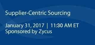 Supplier-Centric Sourcing