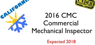 2016 CMC- Commercial Mechanical Inspector