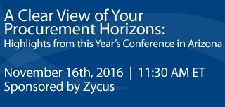 A Clear View Of your Procurement Horizons: Highlights From This Year's Conference in Arizona