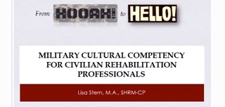 Military Cultural Competency for Civilian Rehabilitation Professionals