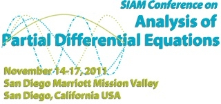 2011 SIAM Conference on Analysis of  Partial Differential Equations Meeting