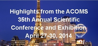 ACOMS 35th Annual Scientific Conference and Exhibition
