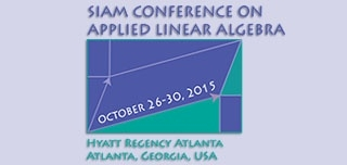 2015 SIAM Conference of Applied Linear Algebra