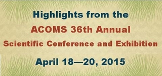 ACOMS 36th Annual Scientific Conference and Exhibition