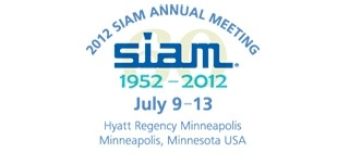 2012 SIAM Annual Meeting