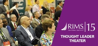 Thought Leader Theater, RIMS 2015