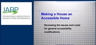 Making a House into an Accessible Home