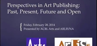 Perspectives on Art Publishing: Past, Present, Future and Open