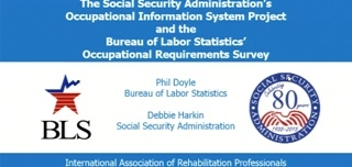 The New Occupational Information System: An SSA and BLS Partnership
