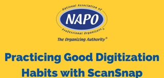 Connecting with Corporate Partners: Fujitsu Presents: Practicing Good Digitization Habits with ScanSnap