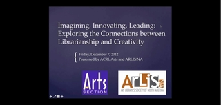 Imagining, Innovating, Leading: Exploring the Connections Between Librarianship and Creativity