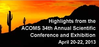 ACOMS 34th Annual Scientific Conference and Exhibition