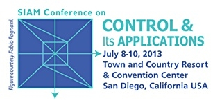 2013 SIAM Confernce on Control and its Applications